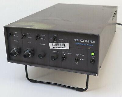 Cohu 6515-3000al12 6500 Camera Control Unit