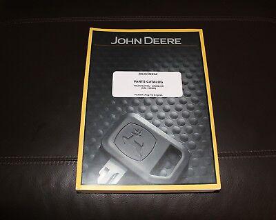 John Deere 450j 550j 650j Crawler Dozer Parts Catalog Manual Pc9387