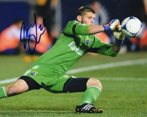 Matt Lampson Chicago Fire Goalie Signed 8x10 Photo BSC COA Autograph