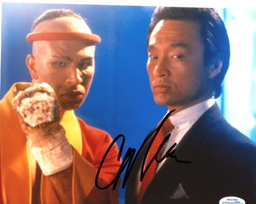 Cary-Hiroyuki Tagawa Mortal Kombat Autographed Signed 8x10 Photo ACOA 2020-1