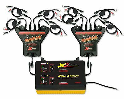 8 Station 12V Battery Charger System for Auto, Marine, Motorcycle, Desulfate