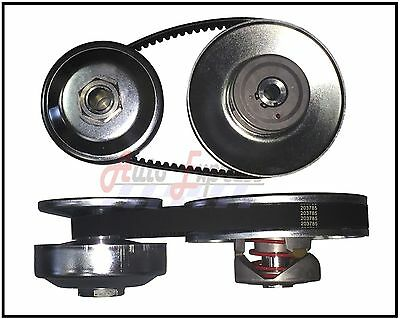 40 Series Torque Converter 3 4 Driven 1 Driver Clutch Pulley Comet 40D Belt Set
