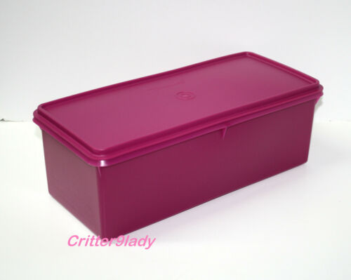 NEW Tupperware Jumbo Bread Server Fuchsia Pink