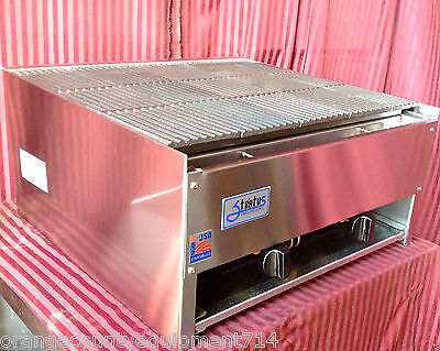 New 24 Lava Rock Char Broiler Grill Rocks Stratus Scb-24 1120 Commercial Nsf