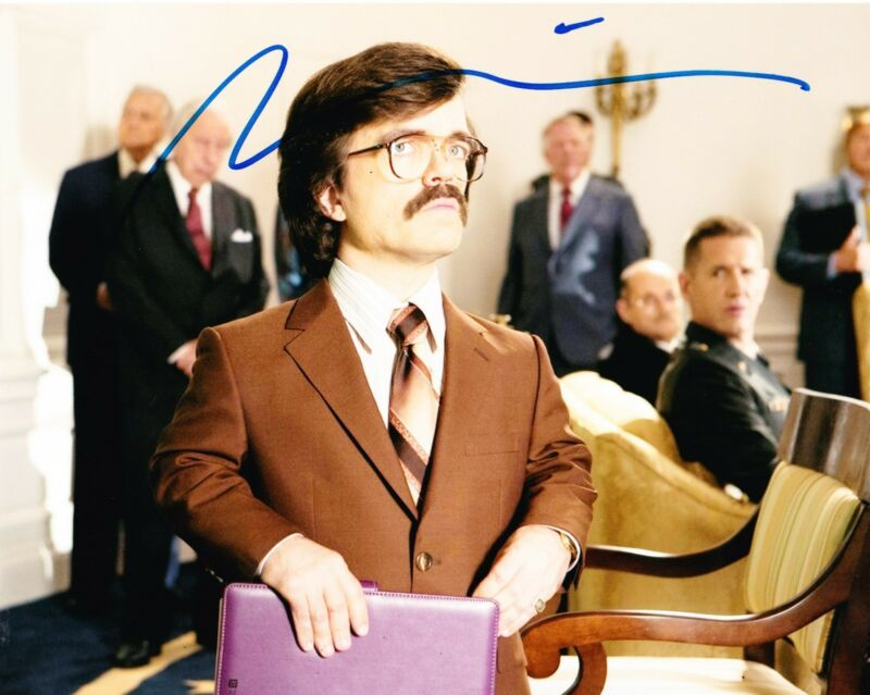 PETER DINKLAGE SIGNED 8X10 PHOTO X-MEN DAYS OF FUTURE GAME OF THRONES COA B