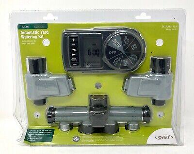 NEW Orbit Automatic Yard Watering Kit Timer Model 56905 SKU 345-179 Lawn Garden