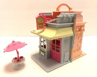 Used, FISHER PRICE CANDY SHOP AND DANCE STUDIO WITH  UMBRELLA TABLE for sale  Covington