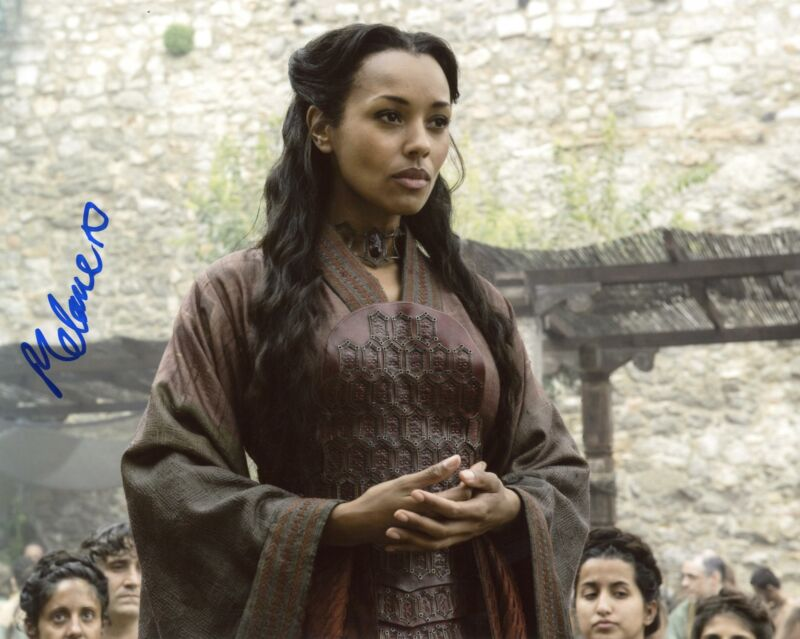 "Melanie Liburd ""Game of Thrones"" AUTOGRAPH Signed 8x10 Photo ACOA"