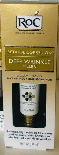 ROC RETINOL CORREXION DEEP WRINKLE FILLER  FILL CREASES/RE-PLUMP SKIN