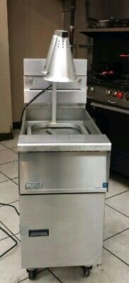 Pitco Stainless Steel Fryer Dump Station With Heat Lamp