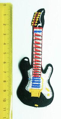 Aufnäher Aufbügler Patch Gitarre fender E-gitarre Heavy Metal Rock gebraucht kaufen  Berlin