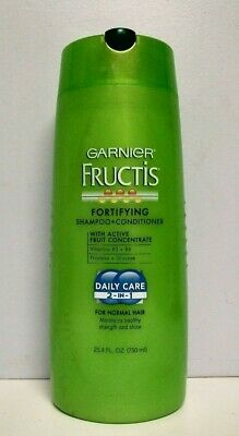 Garnier Fructis Fortifying Shampoo+Conditioner Daily Care 2-in-1 ~ 25.4 oz Loc (Garnier Fructis Daily Care)