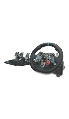 Ps5 PS4 PC Logitech G29 Driving Force Volante da Corsa con Pedali Regolabili