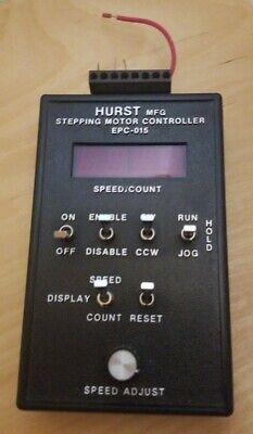 Hurst Mfg. Stepping Motor Controller Epc-015