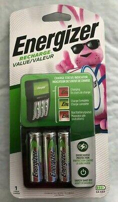 Energizer Value Charger Aa/Aaa W/4 Aa Ni-Mh Batt Incl
