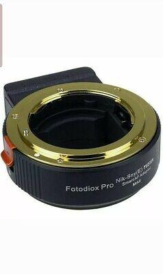 FotodioX FUSION Smart Mark II Adapter for Nikon F Lens to Sony E-Mount Camera