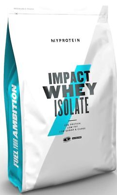 Myprotein Impact Whey Isolate 2.2lbs Unflavoured 35.3oz Powd