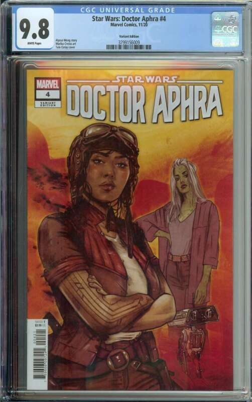 Star Wars: Doctor Aphra #4 CGC 9.8 Cotay Variant