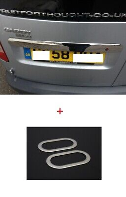 VW Caddy Rear Trunk Lid Cover (Double Door ) and Signal Indicator Repeater cover