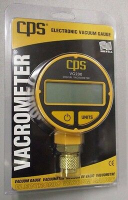 Cps Digital Vacuum Gauge Vg200