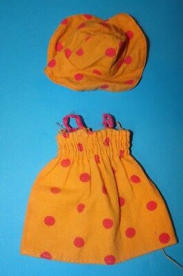 SINDY 'SUNSPOTTER' DRESS & HAT 1975 VINTAGE DOLLS CLOTHES