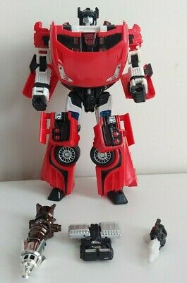 Transformers Classics Universe - Deluxe Class Sideswipe - Complete 2008