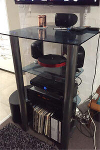 Large glass audio rack Como South Perth Area Preview