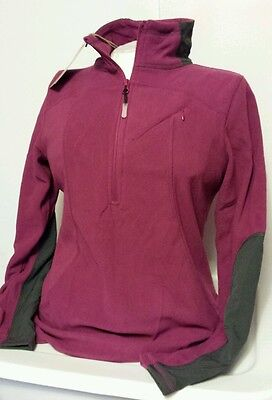 4039ec8291e19 NWT Ascend Ladies 1 4-Zip Microfleece Pullover Polyester Size Large  49  Retail