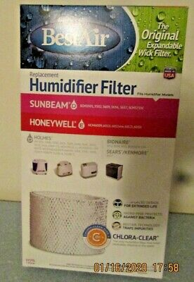 Best Air H75 Humidifier Filter - Holmes HWF-75 Sunbeam SF221 SCM3501 - FAST (Best Portable Air Purifier 2019)