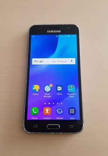 Android Phone - Samsung Galaxy J3 (2016) Andriod Smart Phone Mobile 8GB Black