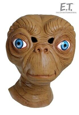 E.T. Adult Mask Freaky Convincing Scary Funny Halloween Costume AlienSpielberg