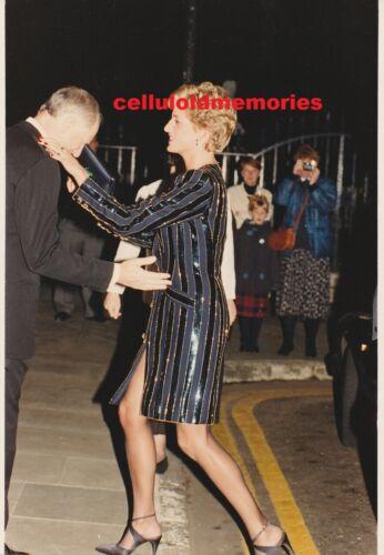 Original Press Photo Princess Diana Lady Di Spencer 10-25-93
