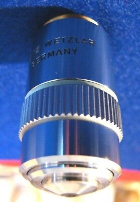 Leitz Wetzlar Npl 20x 0.4 Na Microscope Objective