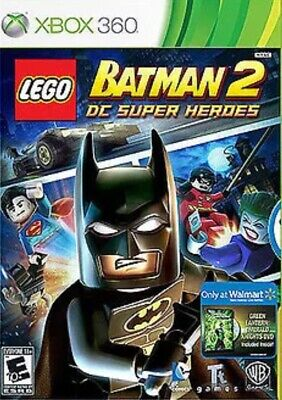 Lego Batman 2: Dc Super Heroes Xbox 360 kids Game Disc Only Fast Ship