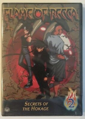 FLAME OF RECCA 2 SECRETS OF THE HOKAGE CD NEW NEVER OPENED