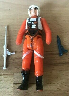 Vintage Star Wars Figure Luke X-Wing Pilot 1978 Hong Kong