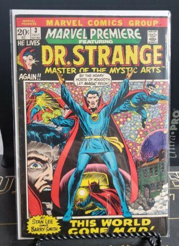 Marvel Premiere #3 Dr. Strange stories start