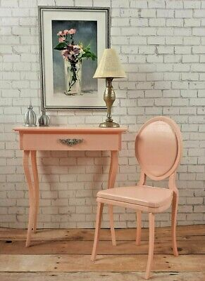 for BARBIE pink VANITY DESK + CHAIR bedroom FURNITURE accessory diorama 1/6