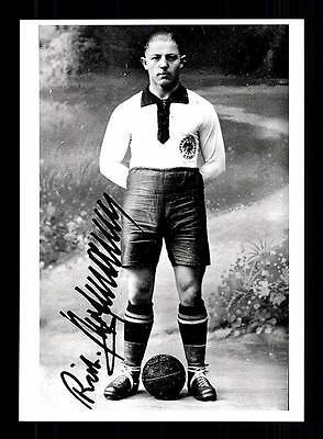 Richard Hofmann Autogrammkarte DFB Nationalspieler 30er Jahre TOP
