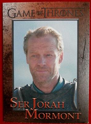 GAME OF THRONES - Season 4 - Card #55 - SER JORAH MORMONT - Rittenhouse 2015