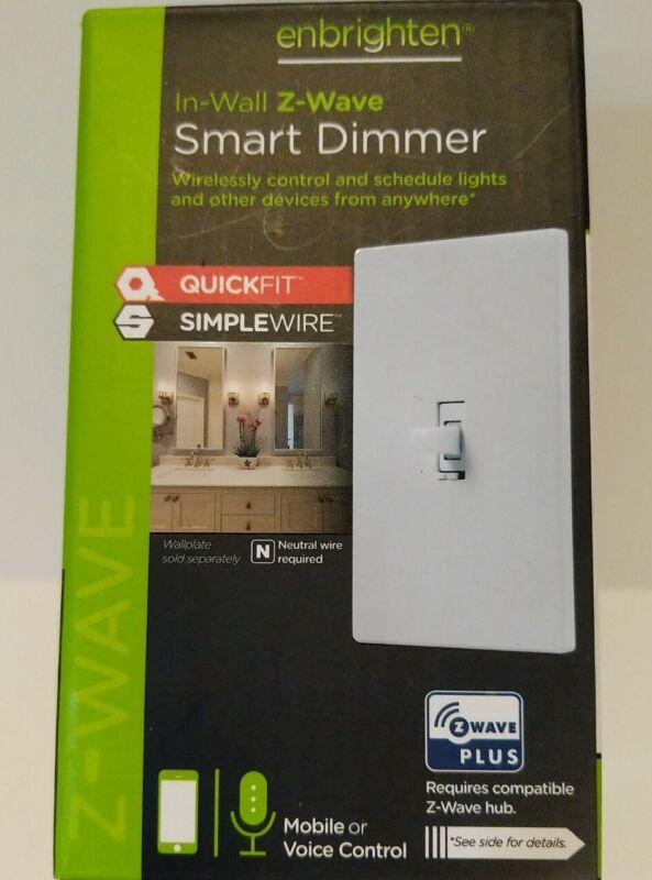 GE Enbrighten In-Wall Z-Wave Plus Smart Dimmer ZW3011 46204-2