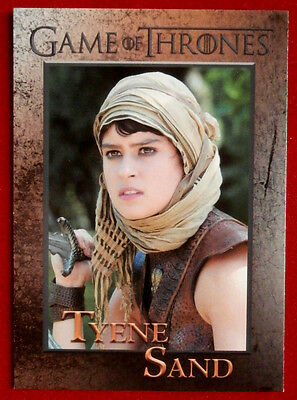 GAME OF THRONES - Season 5 - Card #89 - TYENE SAND - Rittenhouse 2016