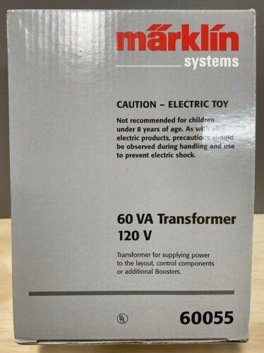 Marklin  60055 60 VA Transformer 120 Volt