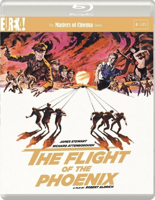 FLIGHT OF THE PHOENIX - NEW BLU-RAY