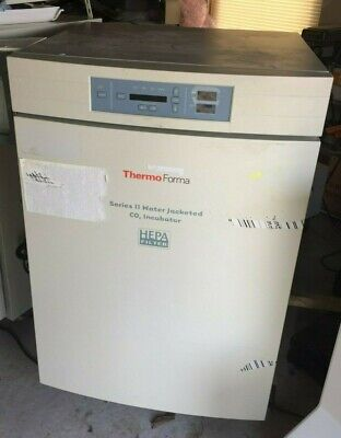 Thermo Forma Series Ii Water Jacketed Co2 Incubator 3851 Hepa C-928 Recorder