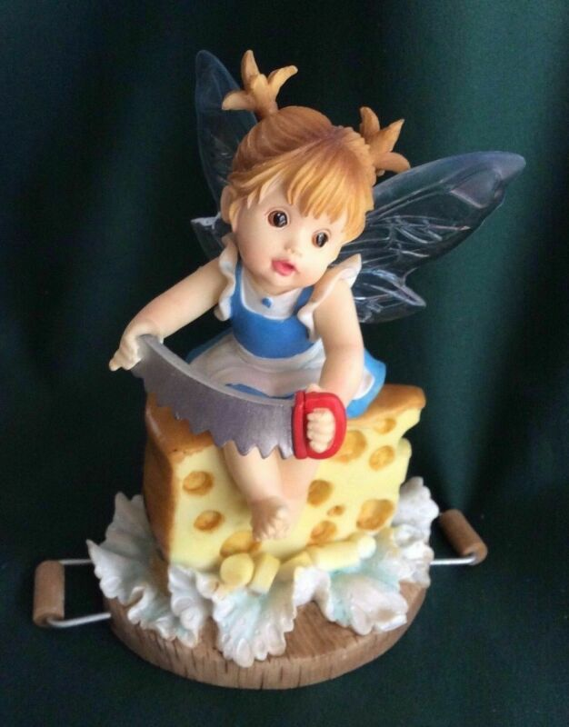 MY LITTLE KITCHEN FAIRIES - SWISS CHEESE FAIRIE