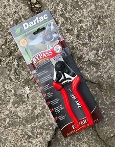 Darlac DP1033 Expert Small Bypass Pruner - Secateur, Garden, BEST BUY - 15mm Max
