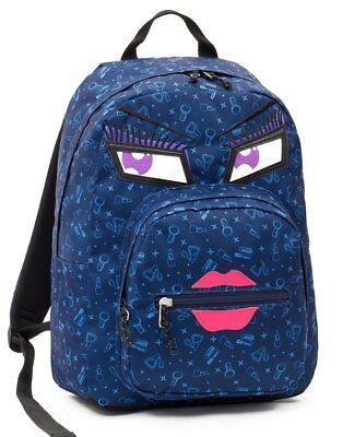 ZAINO INVICTA - OLLIE PACK FACE YAP - Blu Kiss - tasca porta pc padded - scuola