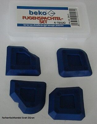 beko Fugenspachtel -Set - Fugenprofi  - Fugenwerkzeug - Glättspachtel - Fugen