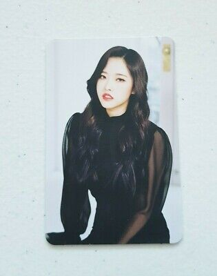 """MONTHLY GIRL LOONA Olivia Hye Limited Photocard - Official Repackage Album """"X X"""""""